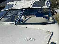 1995 Sea Pro 196 Royale Citation Bimini Top and Open Bow Cover