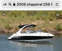 2008 Chaparral 255/256 Rear Bimini Top With Frame. This Is A New Never Used Top