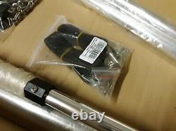 3 Bow Pontoon Aluminum Frame Bimini Top 61-66W x 5'L x 32H, Frame Only 955
