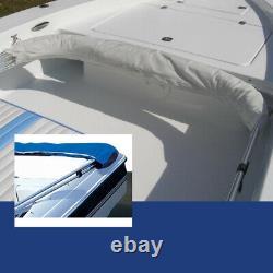 3 Bow bimini top set fits Bass Tracker Targa V-17 WT fishing boat 9 colors