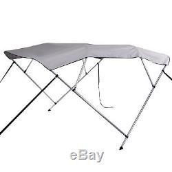4 Bow Bimini Boat Cover 91-96 600D UV 8' Waterproof Top Boat Cover