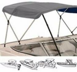 4 Bow High Profile Bimini Tops for Boats Fits 54H X 96L X 97 to 103 Wide