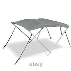 4 Bow Square tube frame Pontoon Deck Boat Bimini Top Cover Canopy 9 Colors