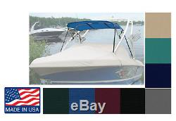 7oz TOWER BIMINI TOP for Boats with Existing Wakeboard Tower 4'L X 81-84W