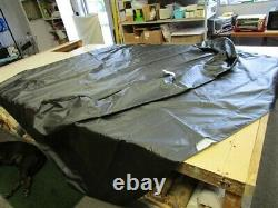 Aurora Bimini Top Cover W / Boot Black 116 X 114 Marine Boat