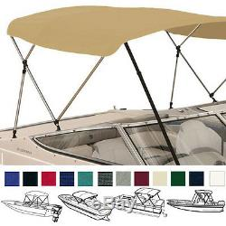 BIMINI TOP FRAME ONLY 3 BOW 72L 46H 54-60W With REAR POLES