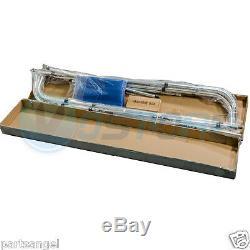 Bimini 4 Bow Top Boat Cover Blue 96L 54H 73-78 W Rear Support Poles