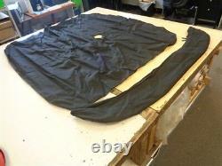 Bimini Boot Top Cover W / Boot Black 2 Bow 68 X 64 3/4 Marine Boat