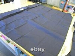 Bimini Top Cover With Boot Navy Blue 216002 3 Bow Marine Boat