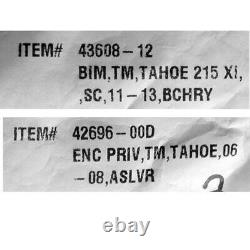 Black Cherry Tracker Tahoe 215 XI 1650040 Boat Bimini Top Cover Dowco 43608-12
