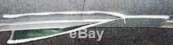 Black Deluxe 1 1/4 frame 8' Pontoon Boat (Bimini) top OEM Grade Black