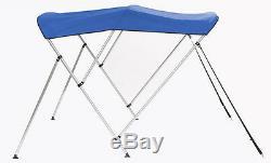 Boat Bimini Top withFramework 6' L x 67-72 W x 46 H Sunbrella Fabric 12 Colors