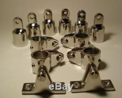Boat Fittings Hardware 1 Stainless Steel for Bimini Top Assemble SPECIAL SET