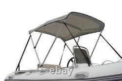 Boatify Sun Shade Top Portable Bimini Top Cover Canopy for Inflatable Boat