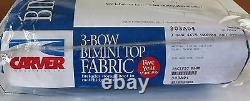 Carver 3 Bow Bimini Pacific Blue Fabric Top 303A04 (Canvas & Storage Boot Only)