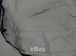 Carver V3669u (3) Bow 1999 White Bimini Top Cover 73 X 79 Poles & Straps Boat