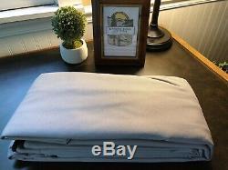 Complete Bimini Top Kit, Frame+Canvas+Hardware, 10'L x 8'W Grey, Lifetime Warranty