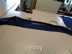 Crownline Dark Blue E6 Bimini Rear & Front T-top W Bimini Boot Set Marine Boat