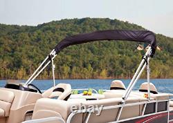 Dowco Marine 681192-08 Beige Custom Fit Pontoon Boat AFT Bimini Top Canopy Boot
