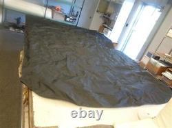 Forest River Universal Bimini Top Cover Black 4 Bow 131 X 93 Marine Boat