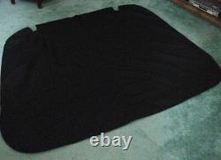 Great Lakes Boat Top, Sea Ray, Bimini Cover, 230 Select, 3V101, 2008, Black