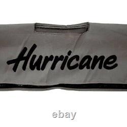 Hurricane Boat Bimini Top 119793044 2690 SunDeck Gray 103 Inch