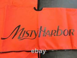 MISTY HARBOR BIMINI TOP 4 BOW With BOOT 2005 RED 87 X 81 001800-R MARINE BOAT