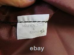 MISTY HARBOR BIMINI TOP & BOOT WINE MAROON 001800-W 4 BOW 89 1/2 x 82 1/4 BOAT