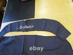 MISTY HARBOR DARK BLUE BIMINI TOP & BOOT 4 BOW 001800-B 89 1/4 x 81 1/4 BOAT