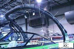 MOOMBA CUSTOM BLACK BIMINI TOP WithBOOT FOR V2 TOWER 2007-2009 LS/LSV P/N 107080
