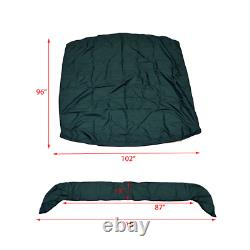 Marpac Tough Guy Boat Bimini Top Cover 828129 Green with Boot