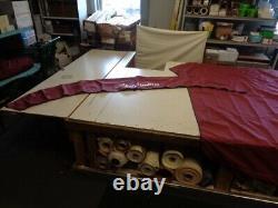 Misty Harbor 205 Cfr / 203 Cf (13'-16') Pontoon Cover / Bimini Top Set Wine Boat
