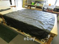 Misty Harbor Bimini Top Cover With Boot 4 Bow Black 104 1/8 X 91 Marine Boat