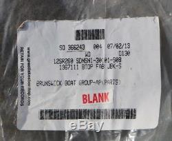 NEW 2012 Sea Ray 260 Sundeck Jet Black Canvas Bimini Top # 1967111