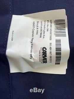 NEW SUNBRELLA Bimini Top Carver 5457, Captain Navy Blue Fabric Cover & Hardware