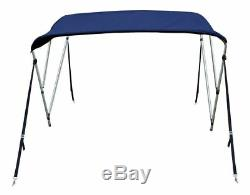 New 4 Seasons Brand Boat Bimini Top Cover 3 Bow 54H x 79-84 W Navy Blue