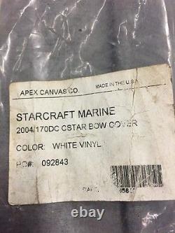 New BIMINI TOP Pieces 2004 04 STARCRAFT Cstar 170 Dc 170dc Bow Cover Aft Curtain