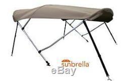 New Bimini Top fit 16' Sea-Doo Speedster or SK SUNBRELLA charcoal gray