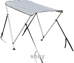 Nisorpa Bimini Top Covers Waterproof Boat Canopy Sun Shade with Mounting for