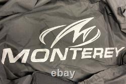 OEM 2018-2021 Monterey M205 with Bimini Top, Black Factor Boat Cover Trailerable