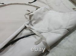 Polaris Dagor Bimini Roof Cover Top Fitted Double Canvas Tan Military Part Nos