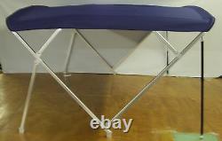 Pontoon Bimini Top 10' Sunbrella 1.25 Frame Metal Fittings