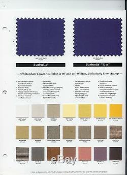 Pontoon Bimini Top 12' long Sunbrella 1.25 Frame Front Braces