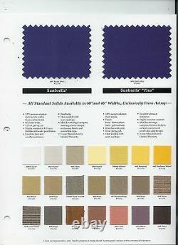 Pontoon Bimini Top 8' Long -Sunbrella 1 Frame Standard Fittings