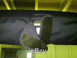 Pontoon Bimini Top Sirius 8 8' long custom width for perfect fit 1.25
