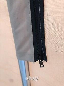 Replacement Bimini Top Canvas+Boot Beige 9' long 8' wide 16oz Lifetime Warranty