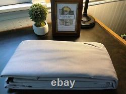 Replacement Bimini Top Canvas+boot, Grey, 10' long 8.5' wide16oz Lifetime Warranty