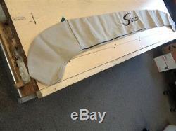 SCOUT 175 SF 2012 TAN CANVAS BIMINI TOP COVER W / BOOT 83 x 74 MARINE BOAT