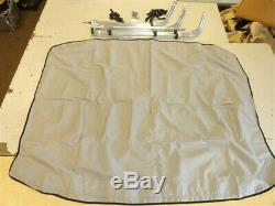 SKI CENTURION CONCOURSE ELITE (2001) BIMINI TOP With BOWS GRAY 4630 BOAT MARINE