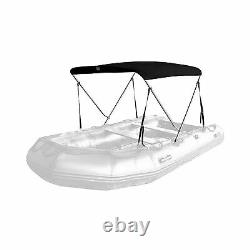 Seamander Inflatable Boat Bimini Tops, Rib Boat Cover with Mounting Hardware